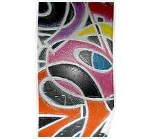 Graffiti Abstracts Poster