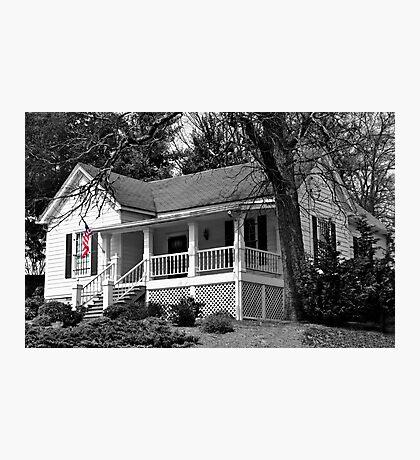Smalltown, America Photographic Print
