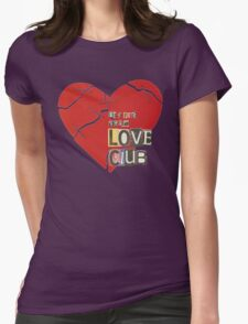 The Love Club Womens Fitted T-Shirt