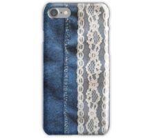 Jeans & Lace iPhone Case/Skin
