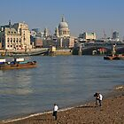 Thames Skyline by RedHillDigital