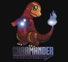 Iron Charmander by M&J Fashion Graphic