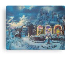 """""""The Professor's Portals"""" Canvas Print"""