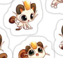 Meowth Sticker Set Sticker