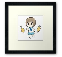 Mako - Kill La Kill Framed Print