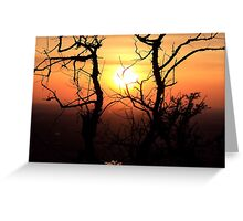 Sunset to Start My Journey Greeting Card