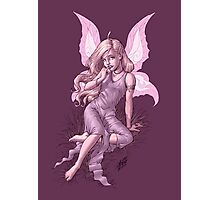 Beautiful Bashful Fairy by Al Rio Photographic Print