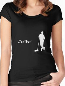 Janitor Women's Fitted Scoop T-Shirt