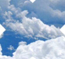 Cloud X Sticker