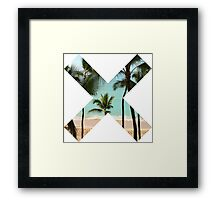 Beach X  Framed Print
