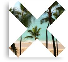 Beach X  Canvas Print