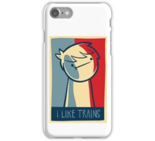 "Galaxy s4 tough case ""I like trains"" iPhone Case/Skin"