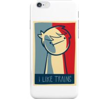 """Galaxy s3 snap case """"I like trains"""" iPhone Case/Skin"""