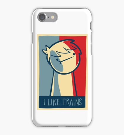 "Galaxy s3 snap case ""I like trains"" iPhone Case/Skin"