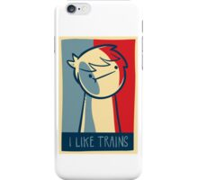 "Galaxy s3 tough case ""I like trains"" iPhone Case/Skin"