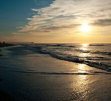 Sunrise at Wrightsville Beach by Robin Hecker