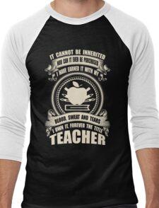 Forever The Title - Teacher Men's Baseball ¾ T-Shirt