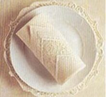 folding cloth napkins by walker king