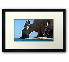 El Arco Framed Print
