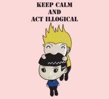 Keep Calm And Act Illogical One Piece - Short Sleeve