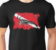 Dive Spiny Lobster Rip Unisex T-Shirt