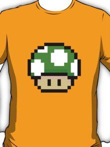Green Mario Mushroom T-Shirt