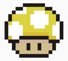 Yellow Mario Mushroom by Neysa Tapanes