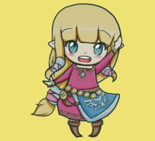 Chibi Zelda T-Shirt + cover by AiasiethRB
