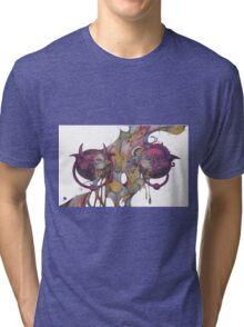 Labyrinth door knockers Tri-blend T-Shirt