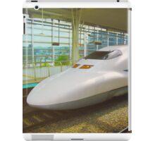 Shinkansen bullet train, Japan iPad Case/Skin