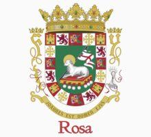 Rosa Shield of Puerto Rico by William Martin