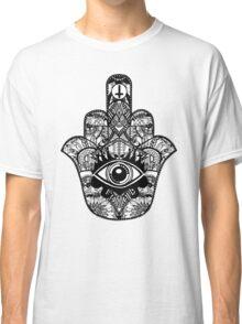 hamsa hand aztec Classic T-Shirt
