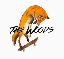 Skater Fox Mens V-Neck T-Shirt