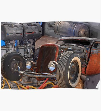 33 Ford Rat Poster
