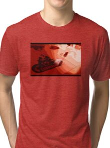 RedWashed-Realism Tri-blend T-Shirt