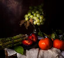 Asparagus & Fruit by Jon Wild