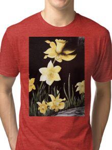 Daffodil Magic Tri-blend T-Shirt