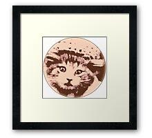 Kitty Gal Framed Print