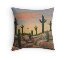 Apache Hills Throw Pillow