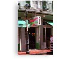 New Orleans - Pizza and Beer Canvas Print