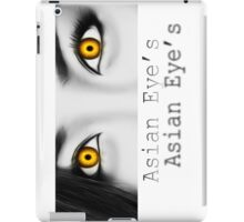 Asian Eye's 5 iPad Case/Skin