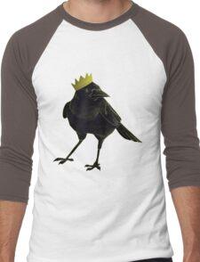 The Crow King Men's Baseball ¾ T-Shirt