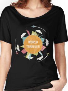 World Traveler Women's Relaxed Fit T-Shirt