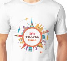 It's Travel Time Unisex T-Shirt