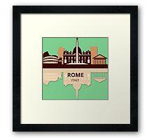 Rome Italy Framed Print