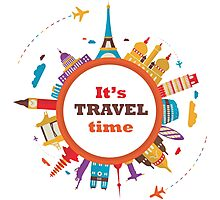 It's Travel Time Photographic Print