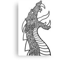 Fierce Dragon Canvas Print