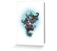 Cute dragon Greeting Card