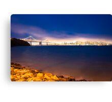 Lights of San Francisco  Canvas Print
