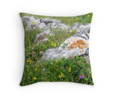 The Burren Throw Pillow